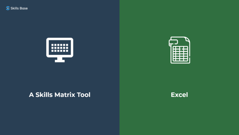 A Skills Matrix Tool vs Excel